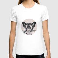 french bulldog T-shirts featuring French Bulldog by lori