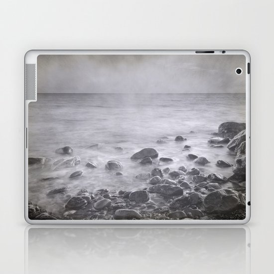 """Black sea rocks"" Laptop & iPad Skin"