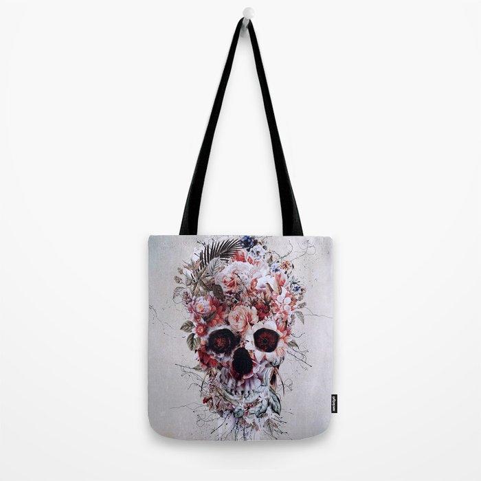 Floral Skull RPE Tote Bag