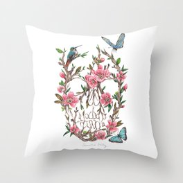 Burgeon Throw Pillow