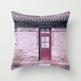 Mysterious east II Throw Pillow