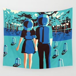 love out of space Wall Tapestry