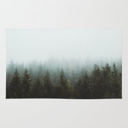 Foggy Forest #2 Rug