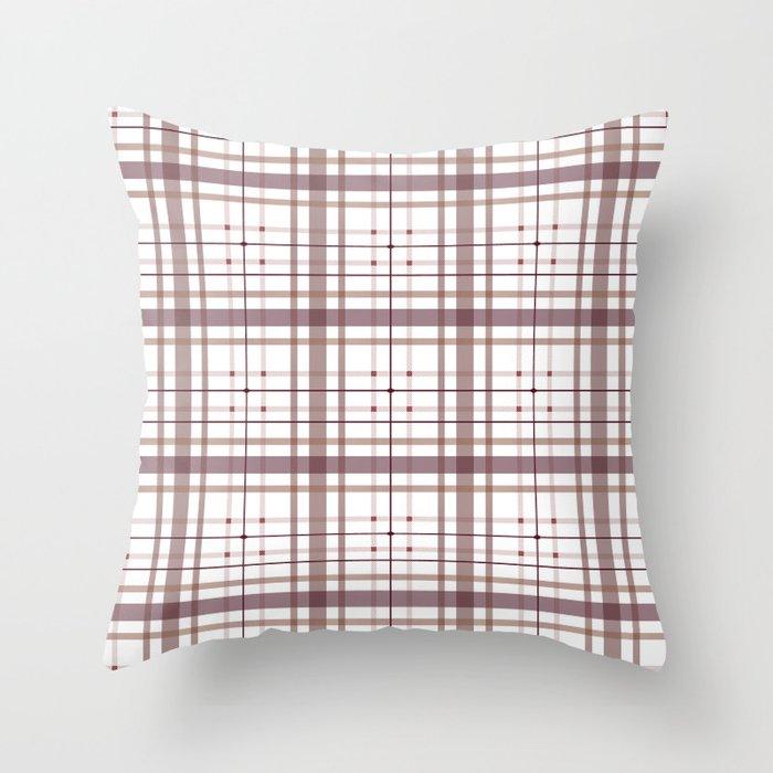 AFE Tartan Pattern2 Throw Pillow