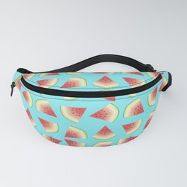 Watermelon Fruit Slices Food Pattern Fanny Pack