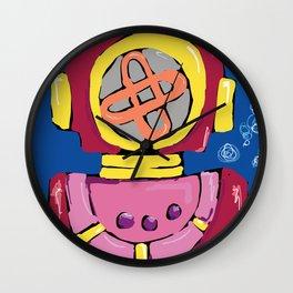 Escafandro Wall Clock