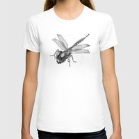 dragonfly T-shirts featuring Dragonfly by Vilnis Klints