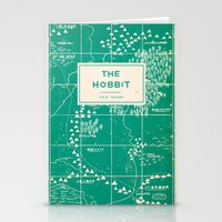 the hobbit Stationery Cards featuring The Hobbit by Buzz Studios