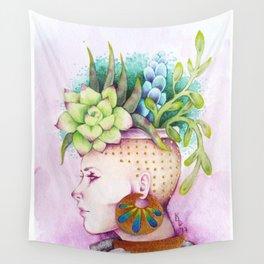Pot Head Wall Tapestry