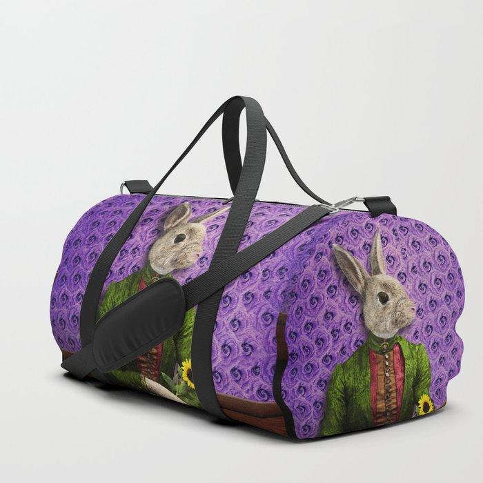 Miss Bunny Lapin in Repose Duffle Bag
