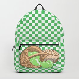 Basket of Granny Smith Apples & Pie Backpack