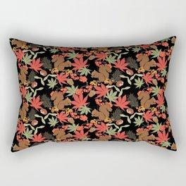 Autumn squirrel Rectangular Pillow