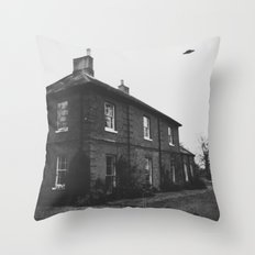 Unidentified - Digital Collage piece Throw Pillow