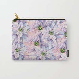 Poinsettia Petals Carry-All Pouch
