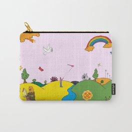 Original Pop-Art by Stuart Hampton Carry-All Pouch