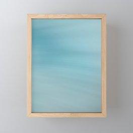 Blue Burst Framed Mini Art Print