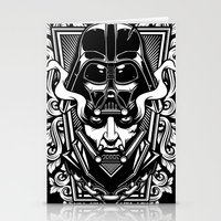 vader Stationery Cards featuring Vader by OneAppleInBox