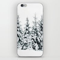 snow iPhone & iPod Skins featuring Snow Porn by Tordis Kayma