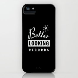 Better Looking Records iPhone Case