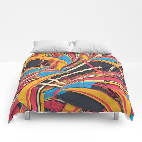 Slippery Slope Comforters