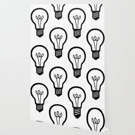 Simple Light Bulb Wallpaper