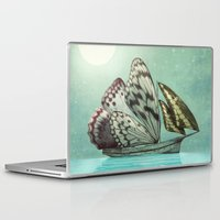 voyage Laptop & iPad Skins featuring The Voyage by Eric Fan