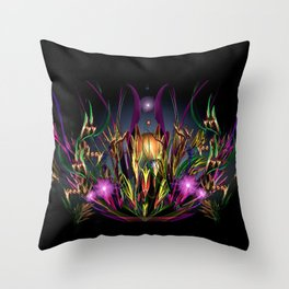 Art Deco Lullaby Throw Pillow