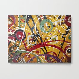 Targeted Metal Print