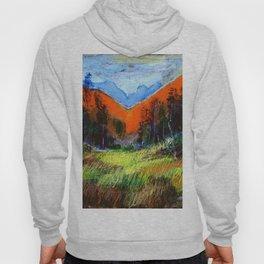 Mountain Meadow Landscape Hoody