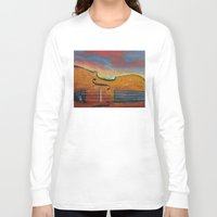 violin Long Sleeve T-shirts featuring Violin by Michael Creese