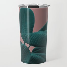 Ficus Elastica #9 #AshRose #decor #art #society6 Travel Mug