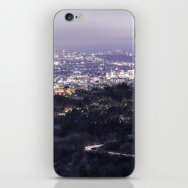 Los Angeles Nightscape No. 2 iPhone Skin
