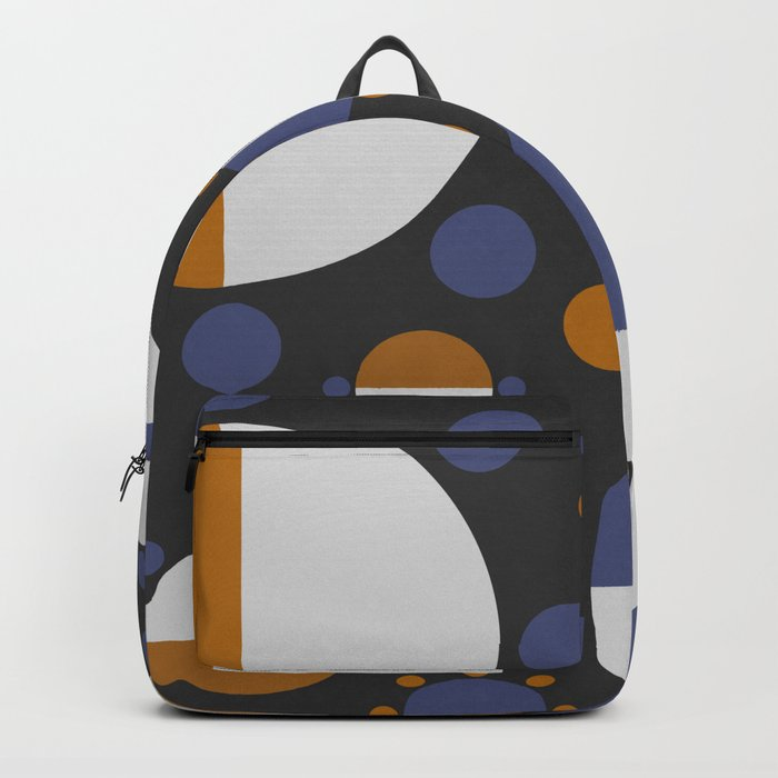 MORE AND MORE CIRCLES  (abstract pattern Backpack