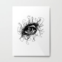 Mum's Eye Metal Print