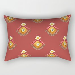 Waffles and Bacon (Red Rover Red Rover) Rectangular Pillow
