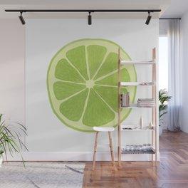 Lime Wall Mural