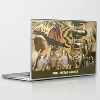 kubrick Laptop & iPad Skins featuring Full Metal Jacket - Stanley Kubrick by Smart Store