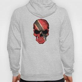 Dark Skull with Flag of Trinidad and Tobago Hoody