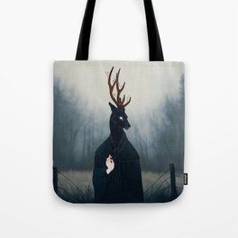 Deep Forest Saint Tote Bag
