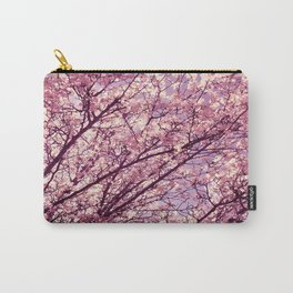 Pink Lavender Blossoms. Carry-All Pouch