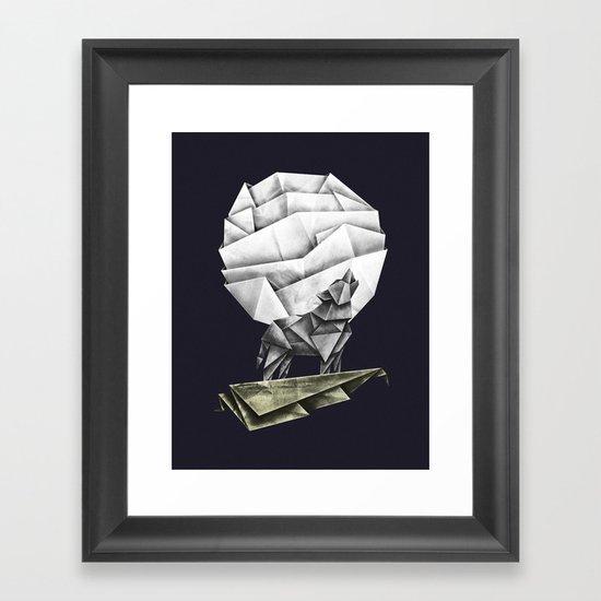 Wolfpaper Framed Art Print