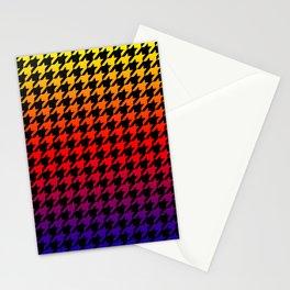 Houndstooth Sundown Stationery Cards