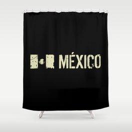 Mexican Flag: Mexico Shower Curtain
