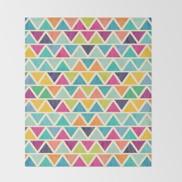 Lovely geometric Pattern II Throw Blanket