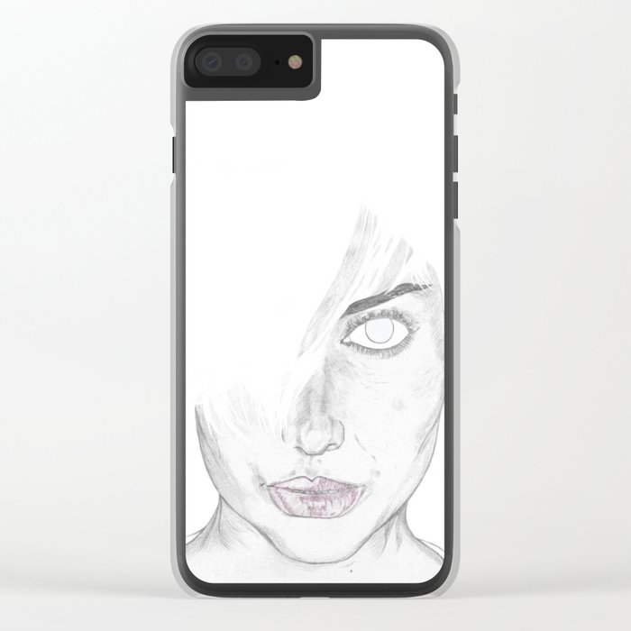 N.I. Clear iPhone Case