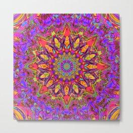 Abstract Flower AAA QQ YY Metal Print