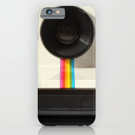 Retro 80's objects - Instant Camera iPhone Case