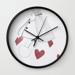 regina di cuori Wall Clock