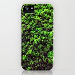 Dark Green Moss iPhone Case