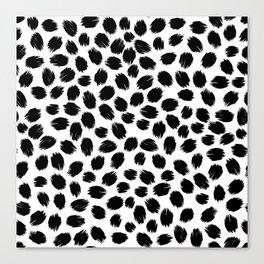 Scratch Confetti Canvas Print